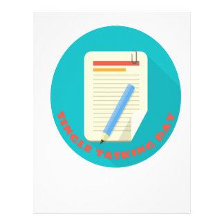 Single Tasking Day - Appreciation Day Letterhead