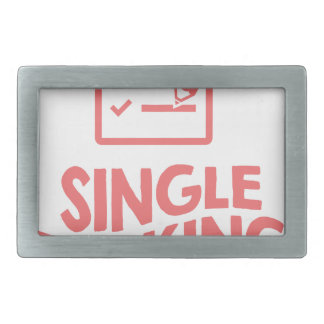 Single Tasking Day - Appreciation Day Rectangular Belt Buckle
