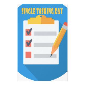 Single Tasking Day - Appreciation Day Stationery