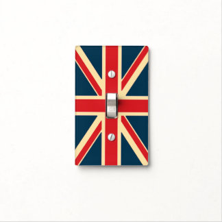 Single Toggle Drapeau UK Light Switch Cover