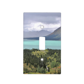 single toggle switch of Twin Lakes Alaska Light Switch Cover
