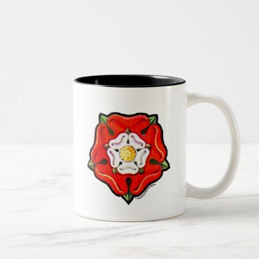 Single Tudor Rose Coffee Mugs