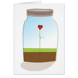 Single Valentine Love Card