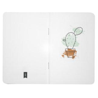 Single Watercolour Cactus Journals