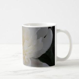 Single White Camellia Coffee Mug