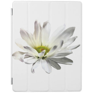 Single White Daisy iPad Cover