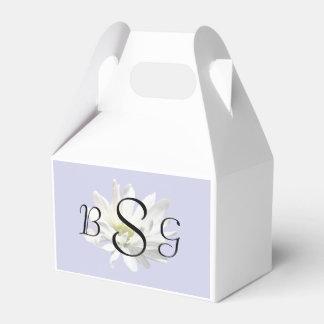 Single White Daisy Wedding Products Favor Box