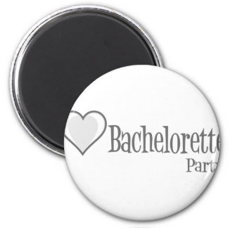 SingleHeart-BacheloretteParty-Grey Magnets