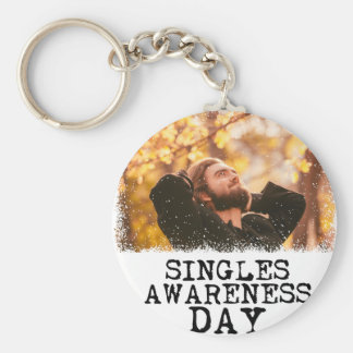 Singles Awareness Day - Fifteenth February Keychain