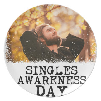 Singles Awareness Day - Fifteenth February Plate