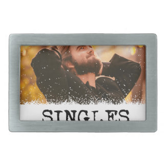 Singles Awareness Day - Fifteenth February Rectangular Belt Buckles