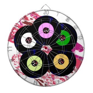 Singles Collection Jazz Background Dart Boards