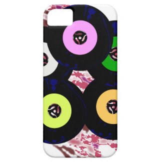 Singles Collection Jazz Background iPhone 5 Cover