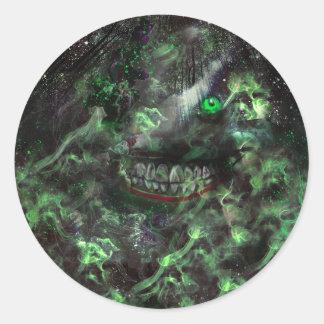 Sinister Classic Round Sticker
