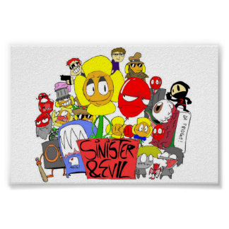 Sinister & Evil Group Poster