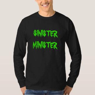 SINISTER MINISTER - Long Sleeve T-Shirt