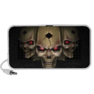 Sinister Skulls Travelling Speakers