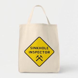 Sinkhole Inspector Tote Bag