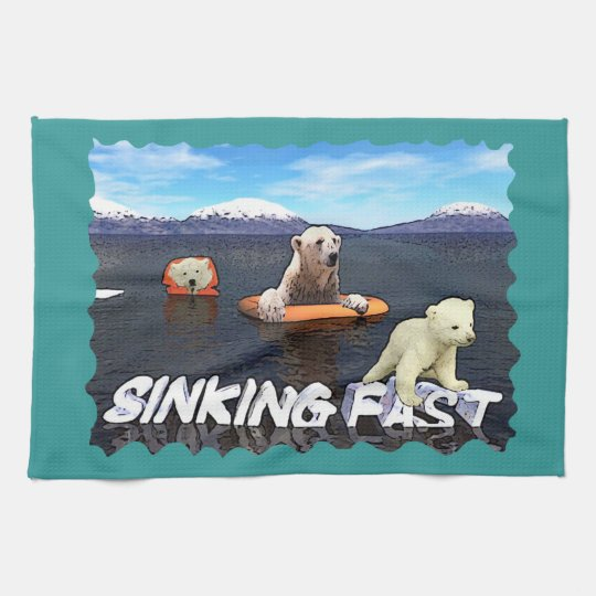 Sinking Fast Hand Towel