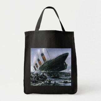 Sinking RMS Titanic Tote Bag