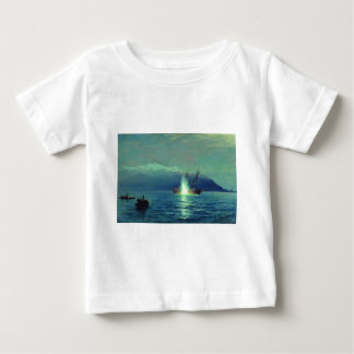 Sinking the Turkish steamer 'Intibach' by boats Baby T-Shirt