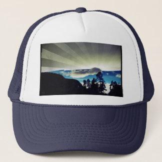 Sinks Canyon Winter Sunburst Trucker Hat