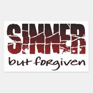 Sinner but forgiven