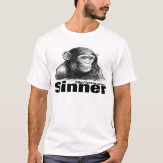 Sinner Chimp t-shirt - By Brett Keane
