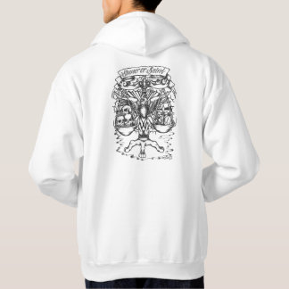 Sinner or Saint tattoo art Hoodie