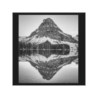 Sinopah Mountain Reflection, Glacier National Park Canvas Print