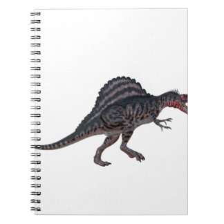 Sinosaurus Side View Spiral Notebook