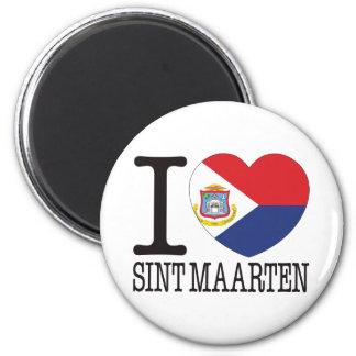 Sint Maarten Love v2 Magnet