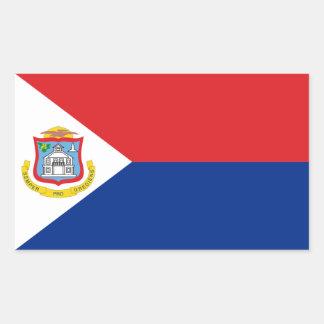 Sint Maarten, Saint Martin Flag, Dutch/Netherlands Sticker