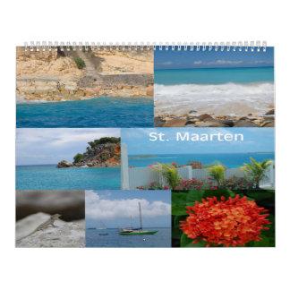 Sint Maarten - St. Martin 12 month calendar
