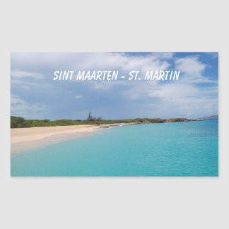 Sint Maarten - St. Martin Beach Scene