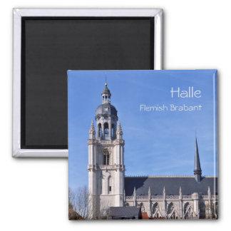 Sint Martinus basilica in Halle, Belgium Magnet