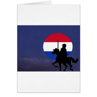 sint with Netherlands maan.jpg Card