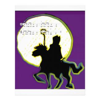 sinterklaas op paard custom letterhead