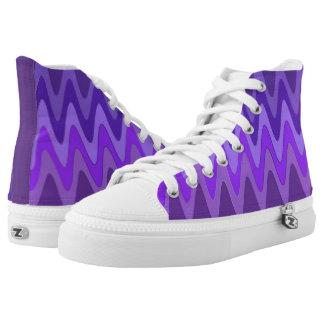 Sinus Waves pattern - purple violet + your ideas