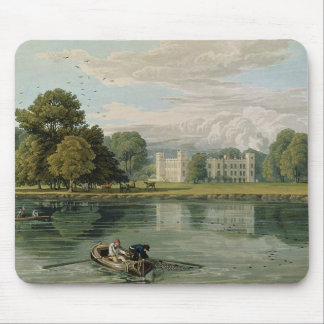Sion House, engraved by Robert Havell (1769-1832) Mouse Pad