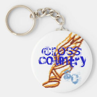 Sioux Center cross country Keychain