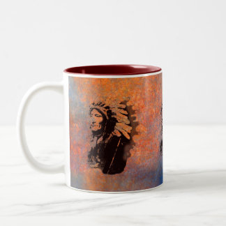 Sioux Chieftain Native American Gift Mug