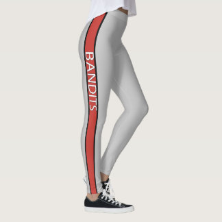Sioux City Bandits Gray Leggings