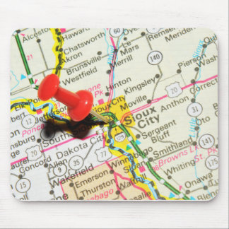 Sioux City, Iowa Mouse Pad