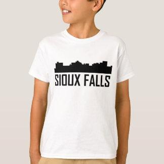 Sioux Falls South Dakota City Skyline T-Shirt