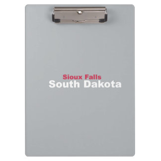 Sioux Falls, South Dakota Clipboard