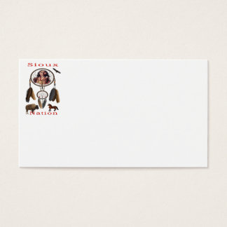 Sioux Nation mercnandise Business Card