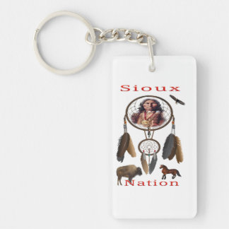 Sioux Nation mercnandise Keychain