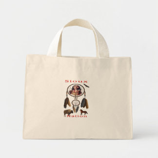 Sioux Nation mercnandise Mini Tote Bag