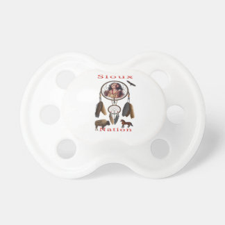 Sioux Nation mercnandise Pacifier